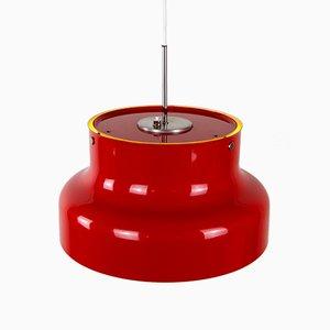 Schwedische Rote Bumling Hängelampe von Anders Pehrson für Studio Lantern, 1960er