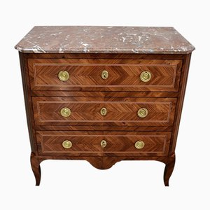 Antique Louis XV/Louis XVI Kingwood Chest of Drawers
