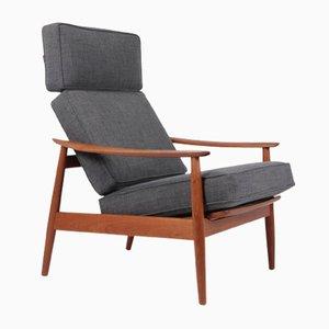 Mid-Century Teak FD164 Armchair by Arne Vodder for Cado, 1960s