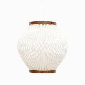 Danish Pearlshade Ceiling Lamp by Lars Schiøler for Hoyrup Light, 1960s