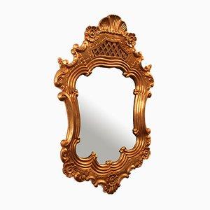 Vintage Spiegel aus Holz