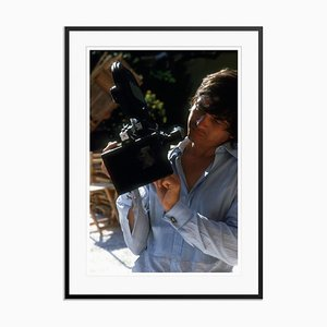 David Bailey Oversize C Print Framed in White by Slim Aarons