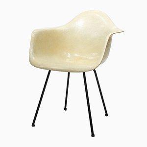 Chaise DAX avec Bord en Corde par Charles & Ray Eames pour Zenith Plastics, 1950s