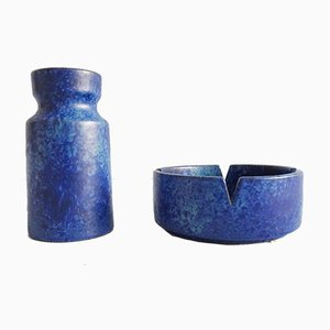 Mid-Century Vases & Ashtrays from Fritz Daalen, Set of 2