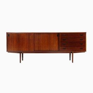 Sideboard aus Holz mit Schubladen, 1950er