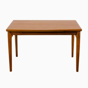 Vintage Danish Teak Extendable Dining Table by Grete Jalk for Glostrup, 1960s