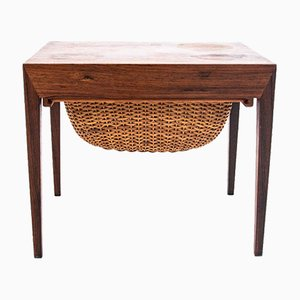 Rosewood Thread Table, 1960s