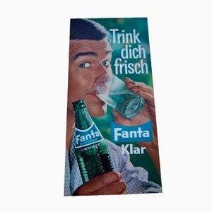 Affiche Publicitaire Fanta Klar en Carbonate, 1959