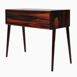 Rosewood Chest of Drawers by Rimbert Sandholdt Glas & Tra Hovmantorp, 1960s