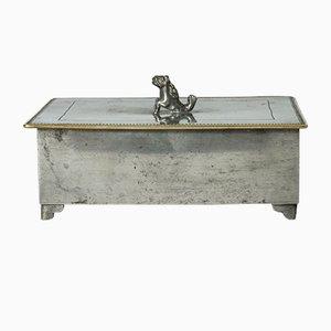 Zinn Box von Nils Fougstedt für Swedish Tin