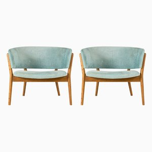 ND 83 Armchairs by Nana Ditzel for Søren Willadsen Møbelfabrik, 1950s, Set of 2