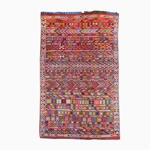 Vintage Moroccan Tribal Kilim Rug, 1970s