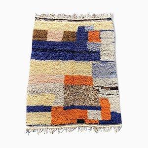 Vintage Beni Ouarain Berber Corridor Carpet