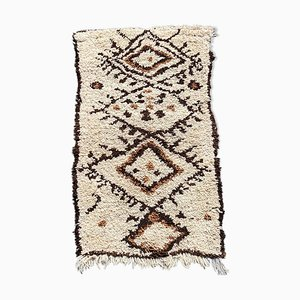 Vintage Beni Ouarain Berberteppich