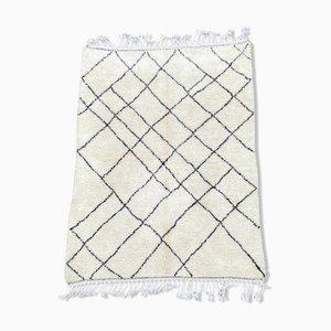 Vintage Beni Ouarain Berber Carpet