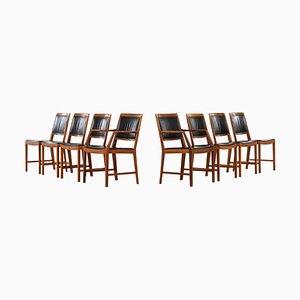 Schwedische Modell Diamant Esszimmerstühle von Bertil Fridhagen für Bodafors, 1963, 8er Set