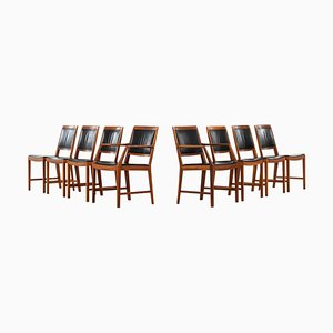 Swedish Model Diamant Dining Chairs by Bertil Fridhagen for Bodafors, 1963, Set of 8