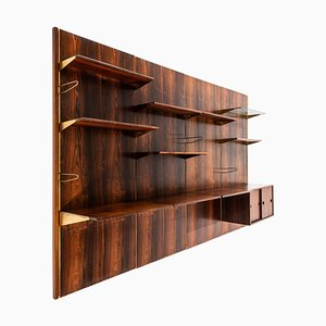 Danish Rosewood Bookcase by Finn Juhl for Bovirke, 1956