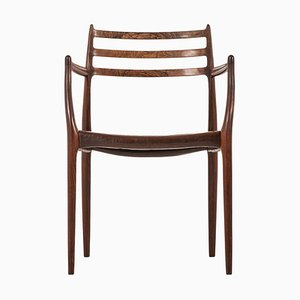 Danish Rosewood Model 62 Armchair by Niels Otto Møller, 1960s
