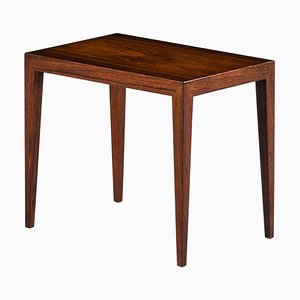 Danish Rosewood Side Table by Severin Hansen for Haslev Møbelsnedkeri, 1960s