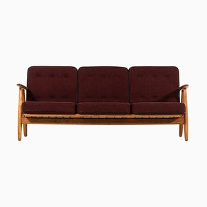Danish Model GE-240 / Cigar Sofa by Hans J. Wegner for Getama, 1950s