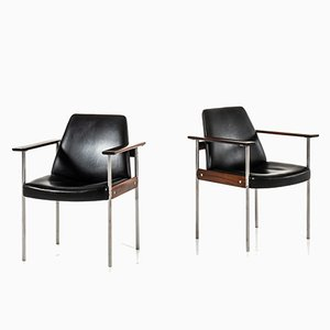 Norwegian Rosewood Model 1001 Armchairs by Sven Ivar Dysthe for Dokka Møbler, 1959, Set of 2