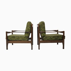 Czechoslovakian Armchairs, 1960s, Set of 2