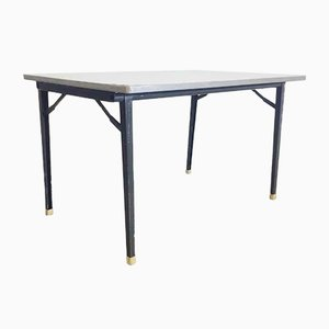 Vintage Industrial Reform Folding Table by Friso Kramer for Ahrend de Cirkel, 1955