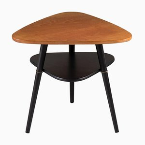 Mid-Century Scandinavian Telma Side Table in Teak by Nils Jonsson for Hugo Troeds, 1950s