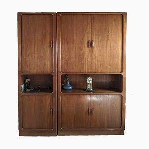 Teak Cabinets 1980s, Set of 2