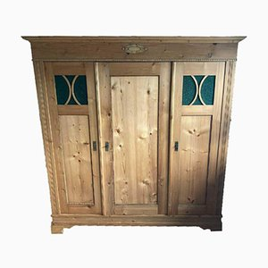 Antique Softwood Closet