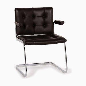 Dark Brown Leather RH 305 Armchair from de Sede