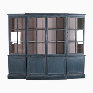 Breakfront Library Bookcase, 1880s