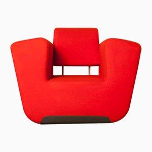 Poltrona Unkle + rossa di DUMoffice per Moooi Design, Olanda, inizio XXI secolo