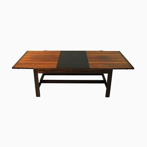 Rosewood Sari Coffee Table by Torbjørn Afdal for Bruksbo, Norway, 1960s