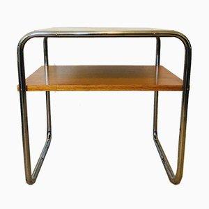 Consolle o tavolo Bauhaus, anni '30