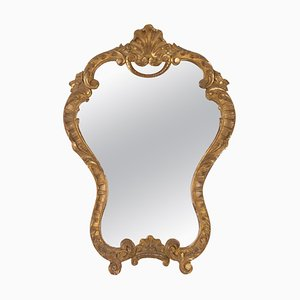 Louis XV Style Carved and Patinated Wooden Mirror