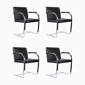 Armchairs by Ludwig Mies van der Rohe, 1980s, Set of 4
