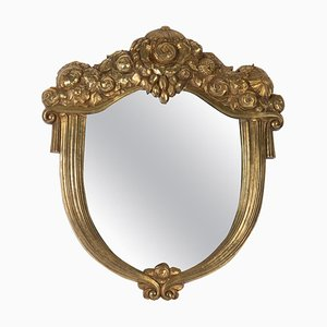 Art Deco Golden Mirror, 1925