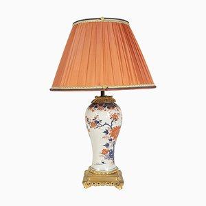 19th Century Single Imari China Porcelain Table Lamp