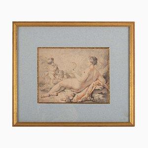 Gerahmte Napoleon III Gravur, 19. Jh