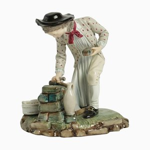 Figurine aus Porzellan, 19. Jh