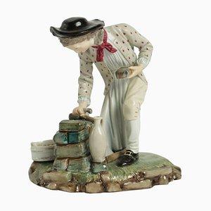 Figurine du 19ème Siècle en Porcelaine