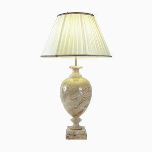 Marmor Tischlampe, 1980er