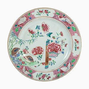 18th Century Dish in Canton Porcelain