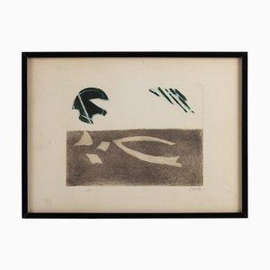 Lithograph by Henri Goetz, 1960s