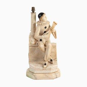 Tischlampe Pierrot mit Mandoline