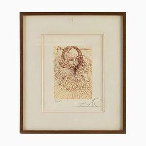 Lithographie von Salvador Dali