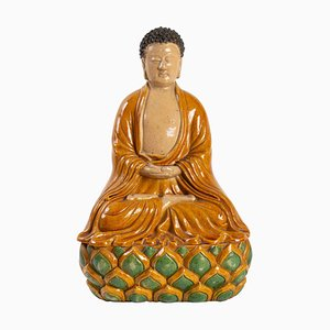 Buddha Sitting on a Lotus Flower, 1930s
