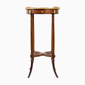 Small Napoleon III Style Pedestal Table